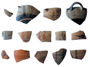 Bols à oiseaux de la Grèce de l'Est - VIIème siècle av. J.-C.