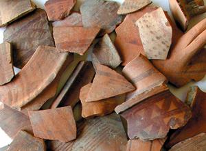 Pottery from the Chalcidiki peninsula