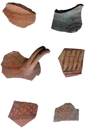 Chalcidic pottery, 7th century B.C.