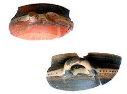 Thasian cups, 525-500 B.C.