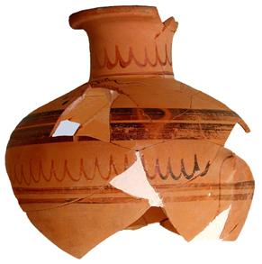 Regional style hydria, 530-500 B.C