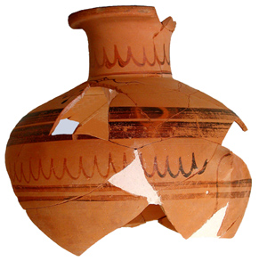Hydrie de style régional, 530 - 500 av. J.-C.