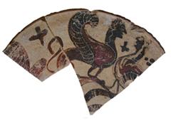 Thasian plate, ca. 580-560 B.C.