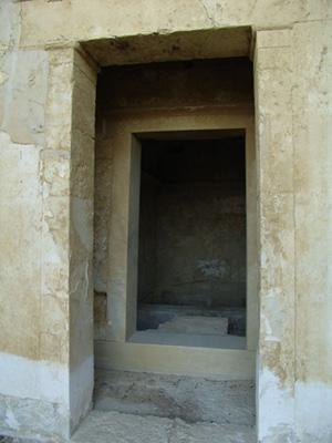Tombe B - Antichambre et chambre