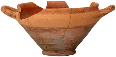 Cycladic skyphos, beginning of 6th century B.C.